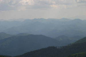 blueridge parkway july 2009