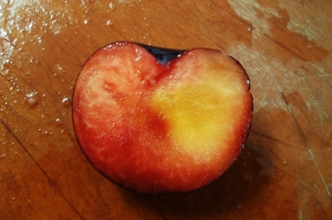 plum heart